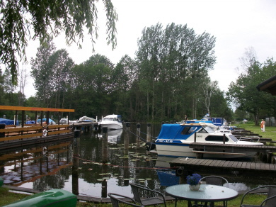 Tretboot,Floß,Ruderboot - Wassersport in Eggesin